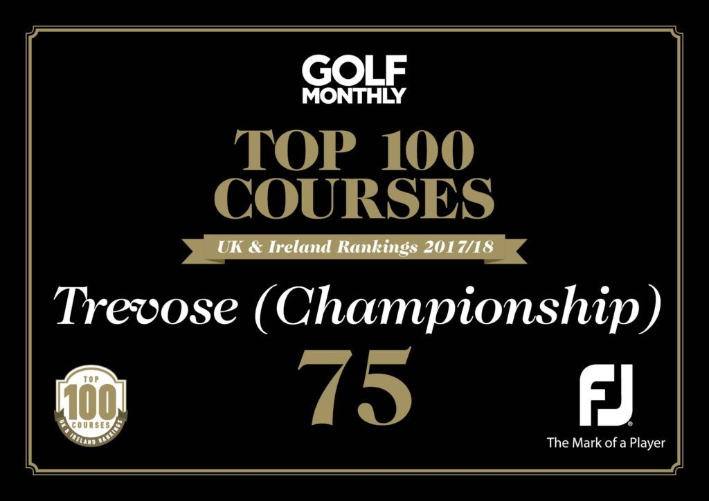 Golf Monthly Top 100 Courses